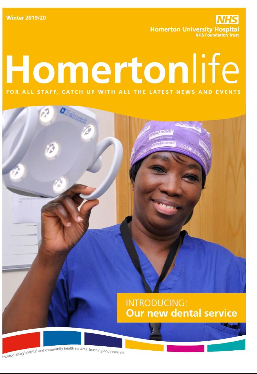 Homertonlife winter 2019 front cover