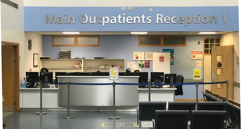 photo of main outpatients area