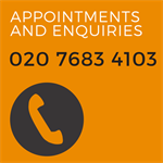 Telephone sexual health enquiries and appointments