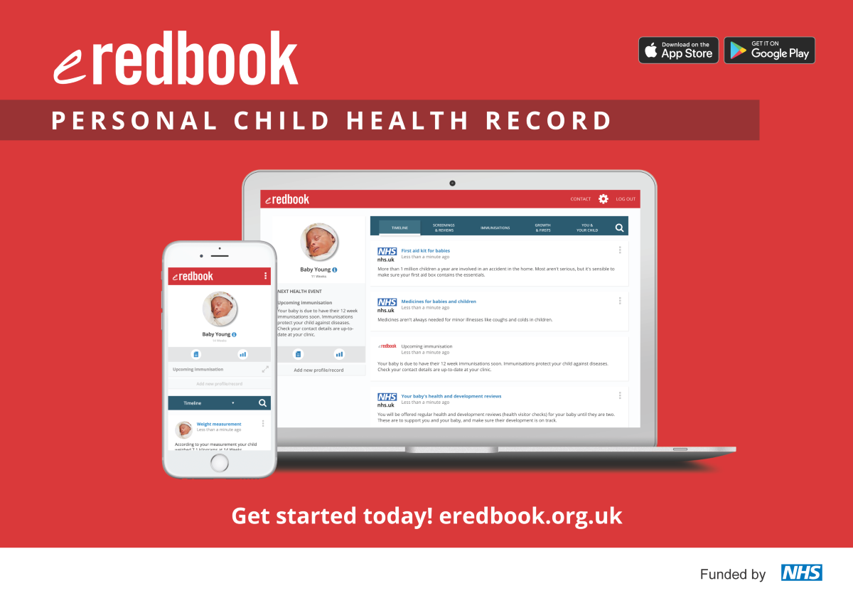 image of an e-redbook smartphone App