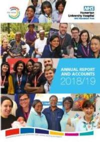 Image of front cover of the latest annual report