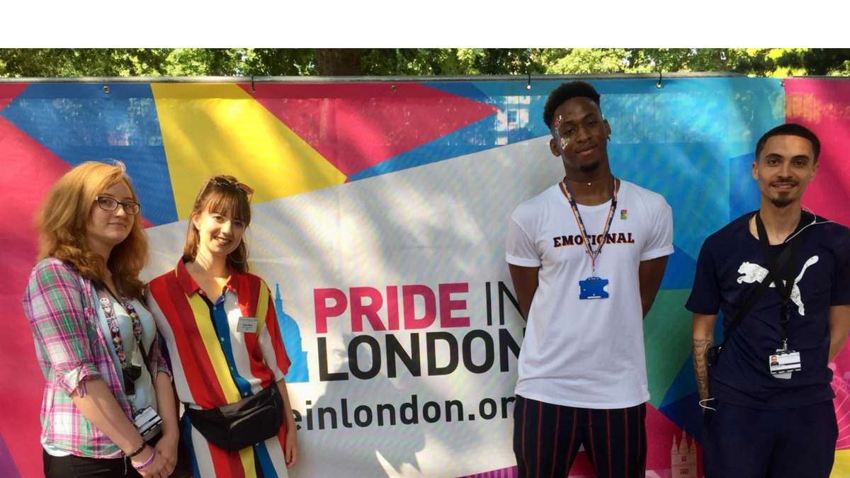 Homerton Sexual Health staff at Pride London